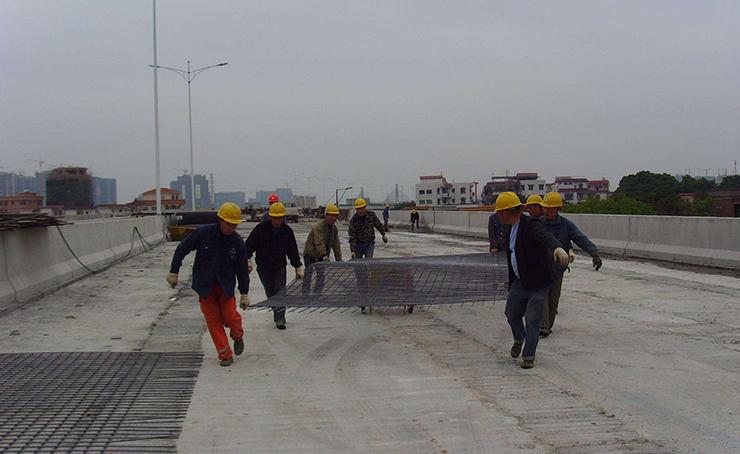 桥梁焊接网片应用案例