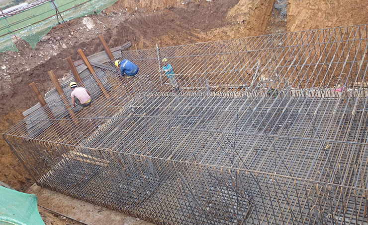 钢筋焊接网片应用案例